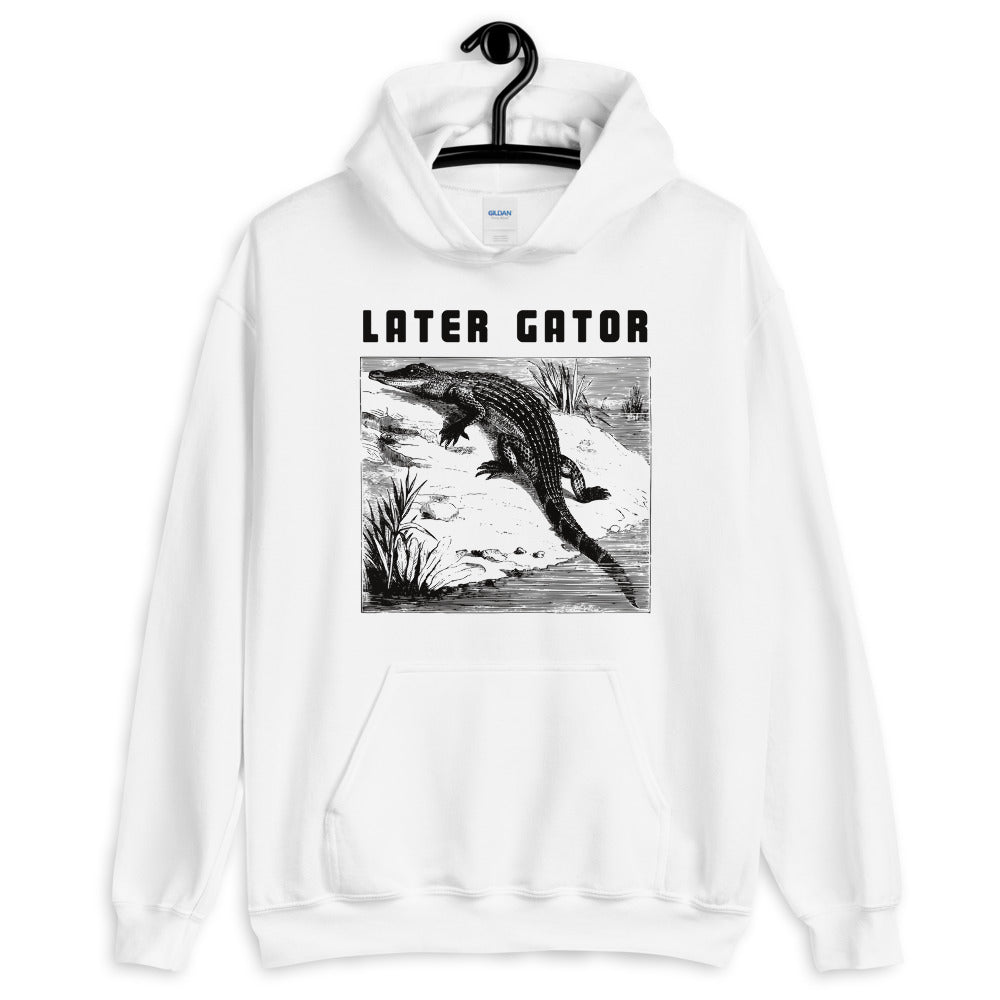 Later Gator Alligator hoodie