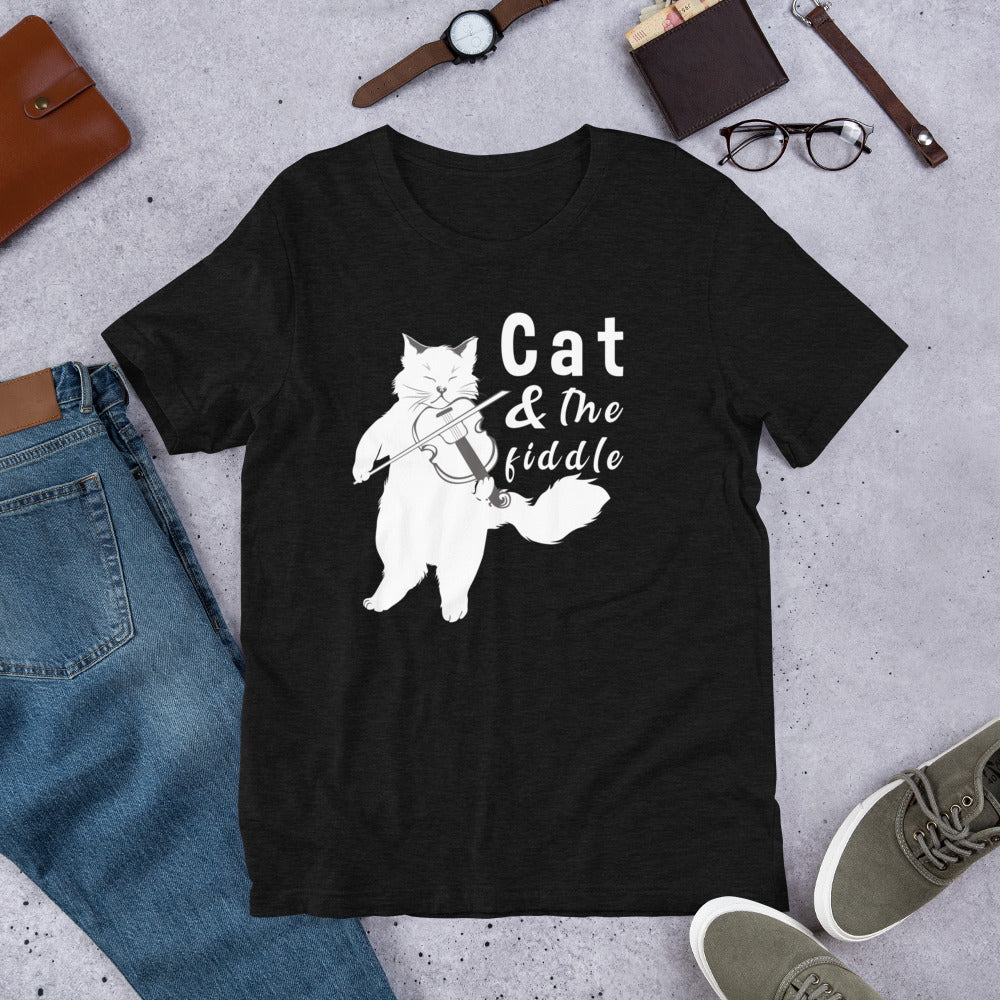 Cat and the Fiddle t-shirt