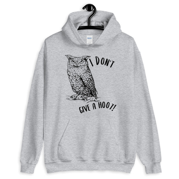 I Don't Give a Hoot! Owl hoodie