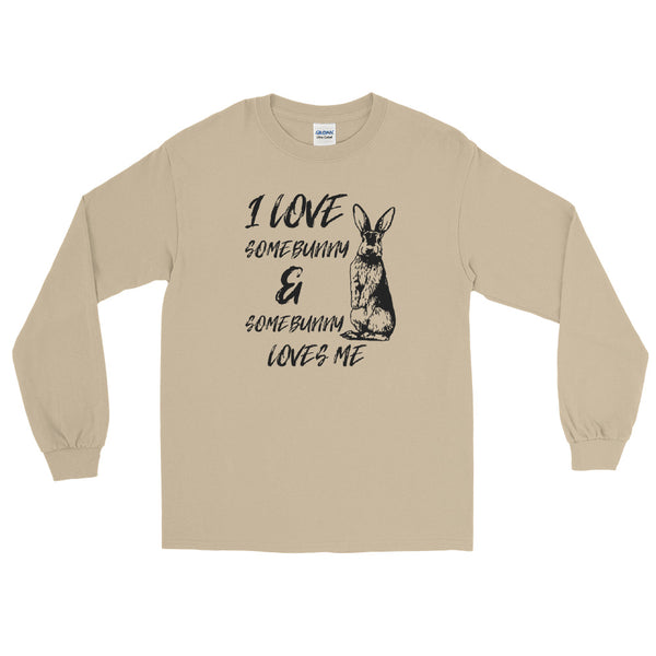 I Love Somebunny & Somebunny Loves Me long sleeve tee