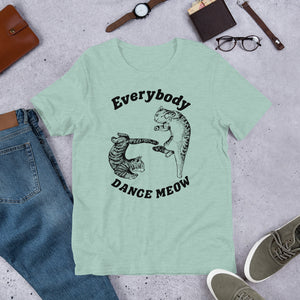 Everybody Dance Meow! Cat premium t-shirt