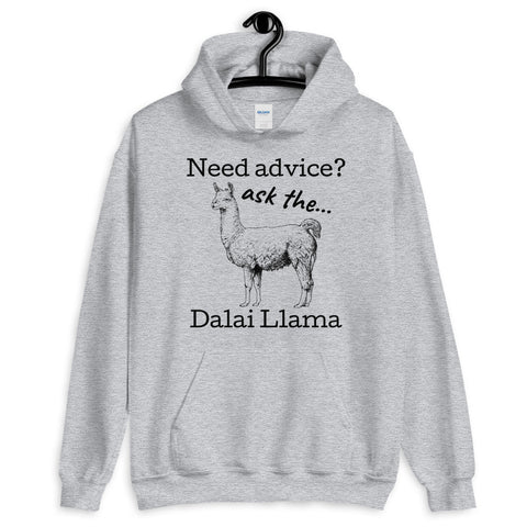 Ask the Dalai Llama hoodie