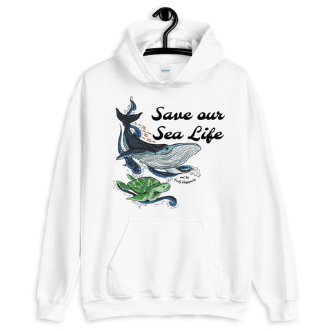 Save our Sea Life Hoodie