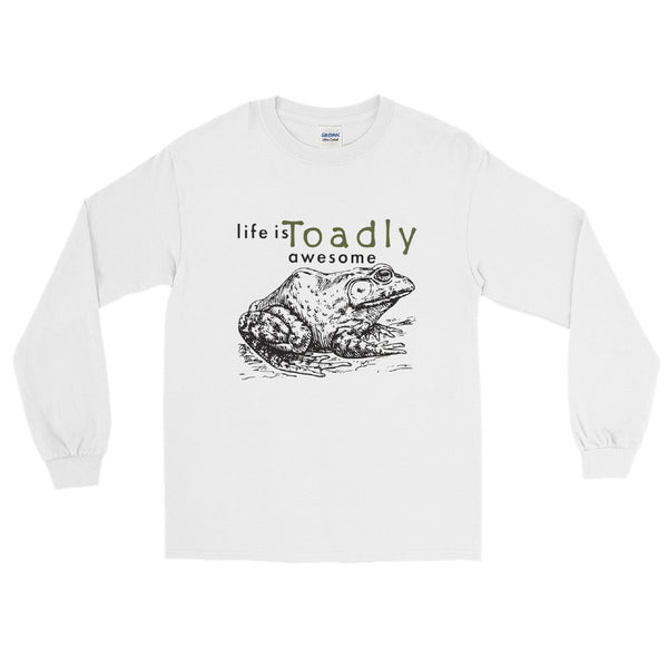 Life is Toadly awesome Toad long sleeve tee