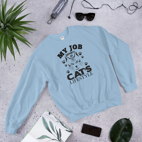 My Cat's Lifestyle sweatshirt