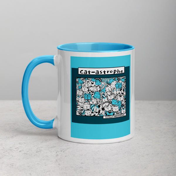 Cat-astrophe cat lover Mug