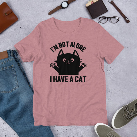 I'm Not Alone! Cat t-shirt
