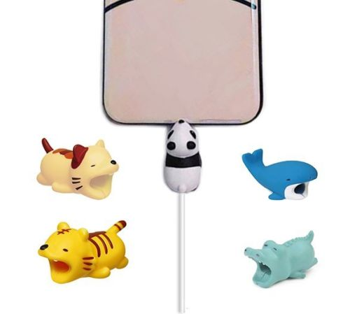 Cute Animal Cell Phone Cord Protector