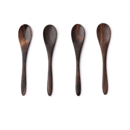 Coconut spoons - set of 4