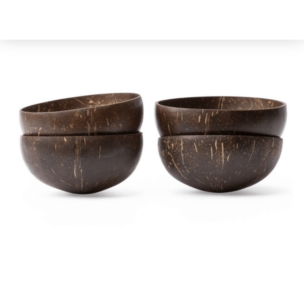 Coconut Bowl Set x4