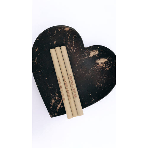 Child Friendly Bamboo straw starter set
