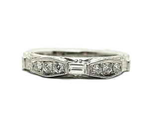 18k .83ctw Diamond Band