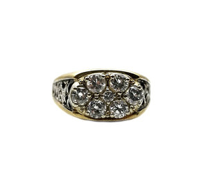 14k 1.05ctw Diamond Ring