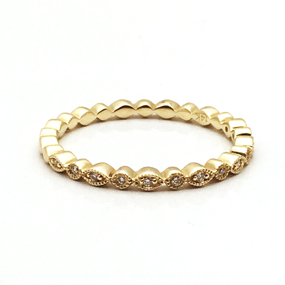 14K .04ctw Diamond Ring
