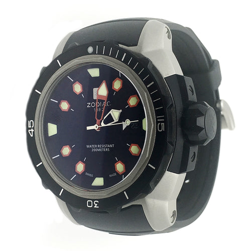 ZODIAC Mens Dive Watch ZO8606 Automatic Swiss LIMITED EDITION
