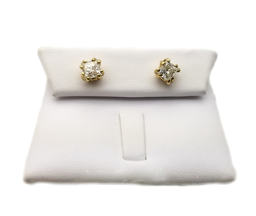 14k: 1.43ct Diamond Stud Earrings