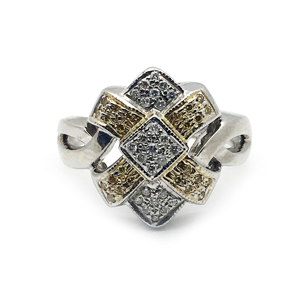 14K .25CT Diamond Ring