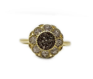 10k .20ctw Diamond Fashion Ring