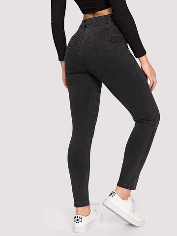 Pantalon de jogging unicolore