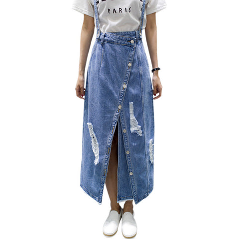 Summer Ripped Womens Skirt - VRAIDJO