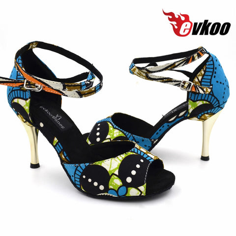 Evkoodance filles 8.5cm talon Zapatos De Baile