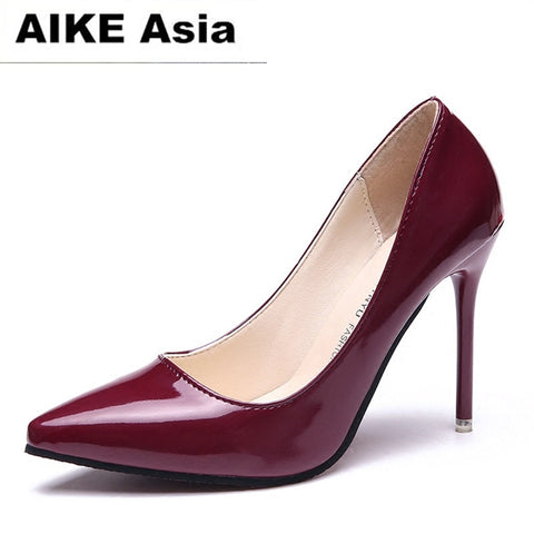 2018 HOT Women Shoes Pointed Toe Pumps