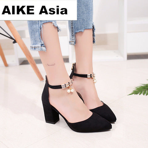 Women Pointed Toe Pumps   High Heels  Shoes