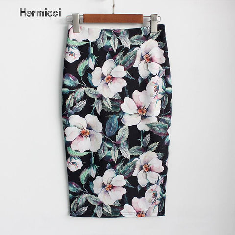 Arrival Sexy & Club Floral Pencil Skirt
