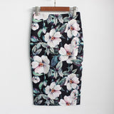 Arrival Sexy & Club Floral Pencil Skirt - VRAIDJO