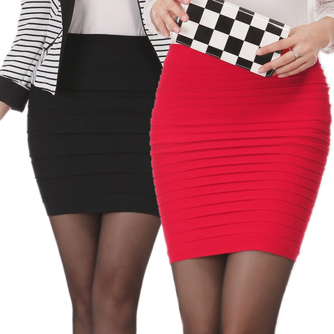 High Waist Tight Office Skirt
