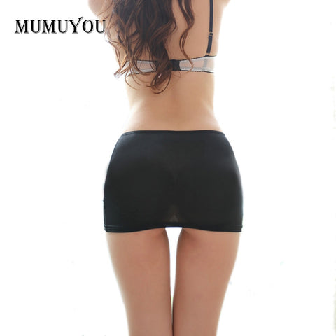Ladies Hot Bodycon Bandage Elastic Skir