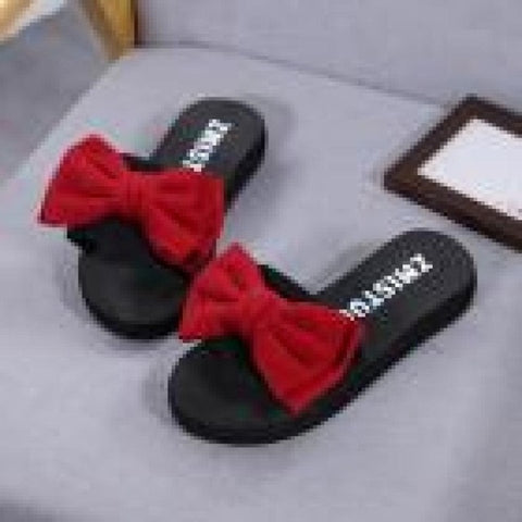 Bow Summer Sandals Slipper - VRAIDJO