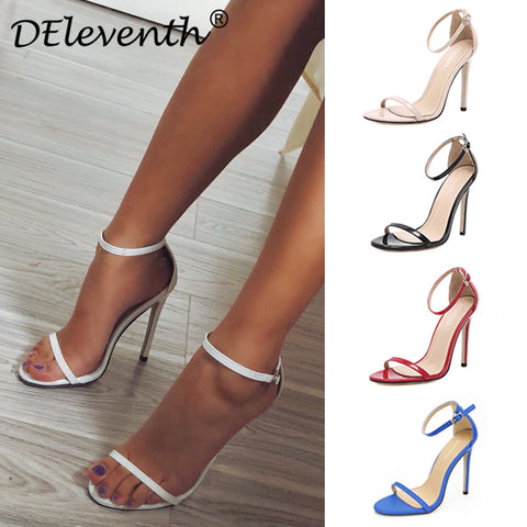 DEleventh Classics Sexy Femmes Chaussures De Mariage - VRAIDJO