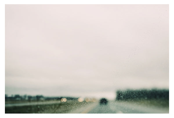 Rain and Road #1 - Fine Art Photograph