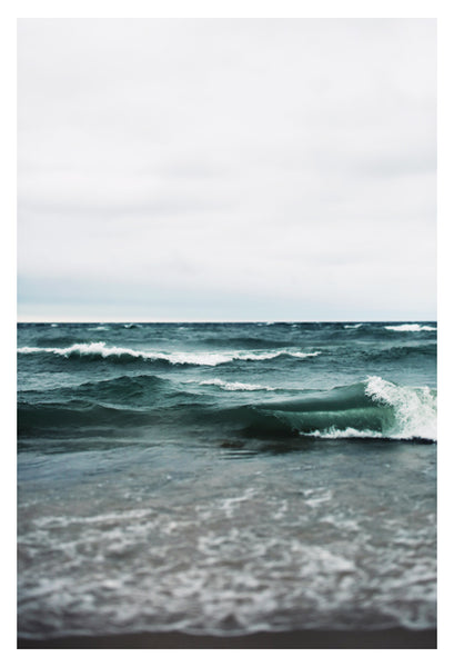 Turquoise Sea #2 - Fine Art Photograph