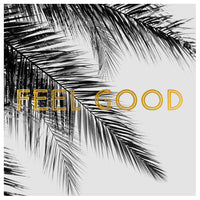 Feel Good (BW Palm) - Fine Art Photograph