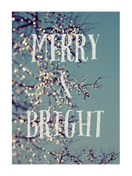 Merry & Bright - Card