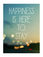 Happiness is Here to Stay - Card