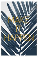 Make It Happen (Cyanotype) - Fine Art Photograph