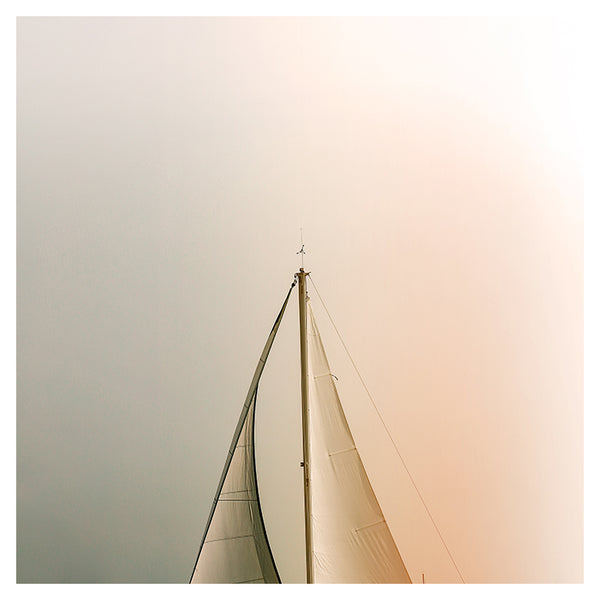 Minimal Sail - Fine Art Photograph