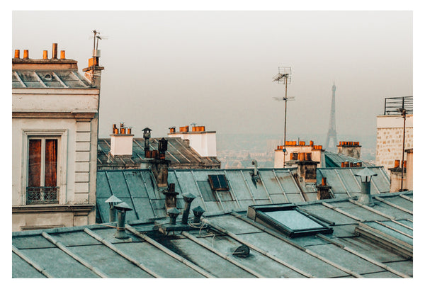 Paris Rooftop #1 - Fine Art Photograph