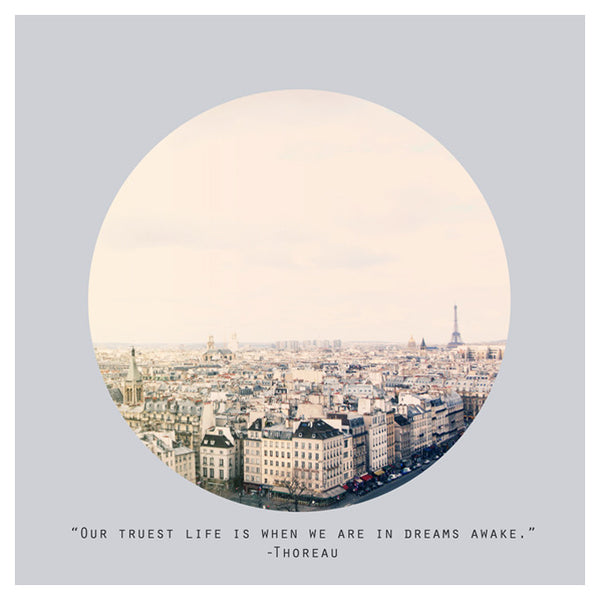 Paris Dreams (Circle) - Fine Art Photograph