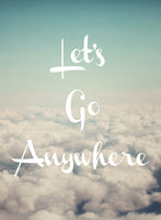 Let's Go Anywhere - Card