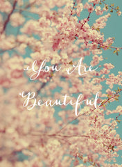 You Are Beautiful - Card