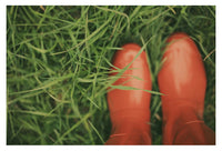 Red Boots #1 - Fine Art Photograph