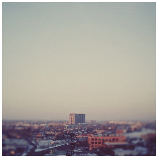 Morning Over Detroit - Fine Art Photograph