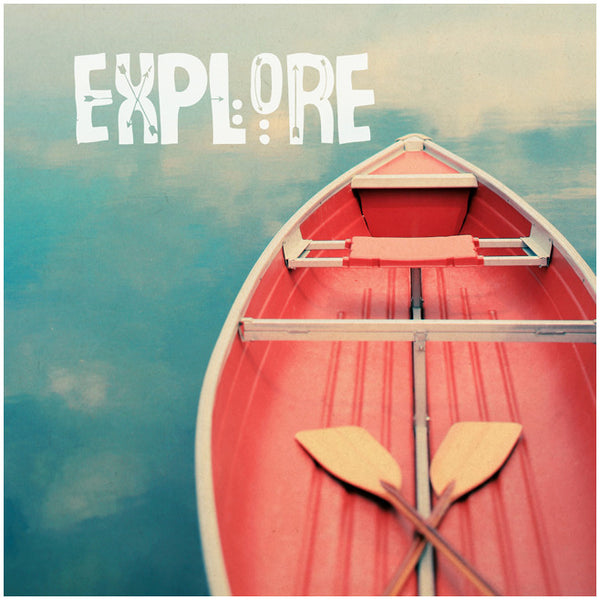 Explore 2 (Canoe) - Fine Art Photograph