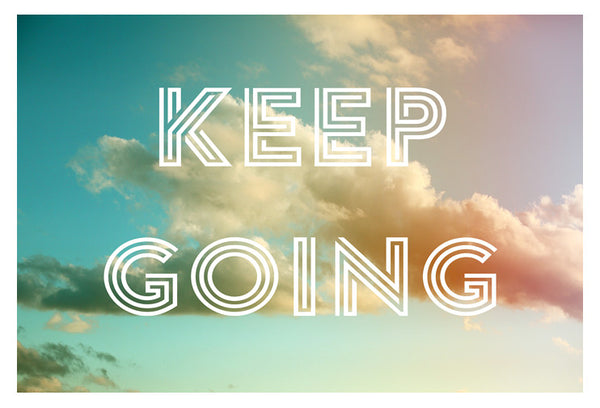 Keep Going (Clouds) - Fine Art Photograph