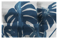 Blue Monstera #3 - Fine Art Photograph