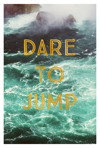 Dare To Jump - Fine Art Photograph